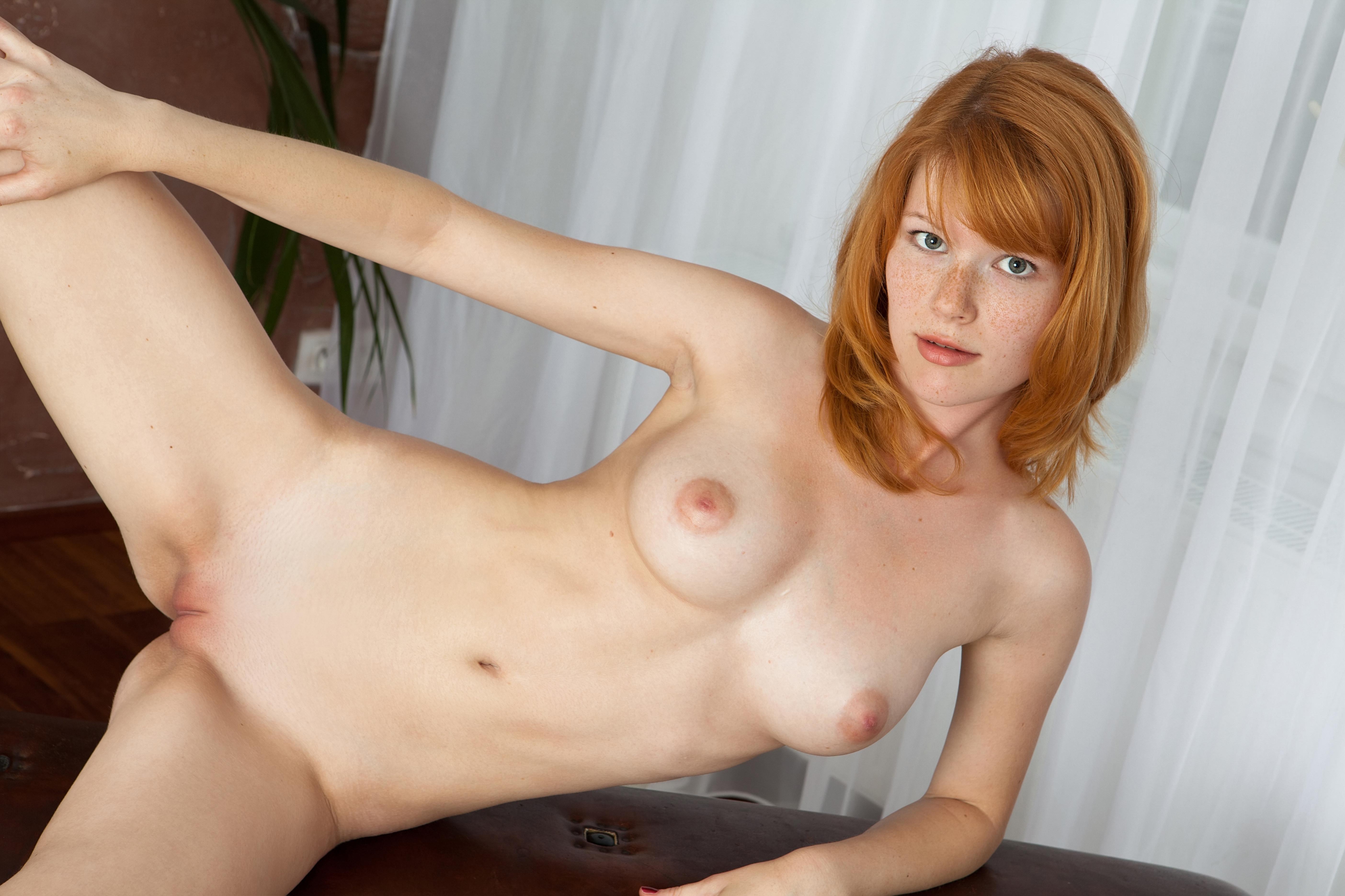 Порно фото рыжих женщин с веснушками