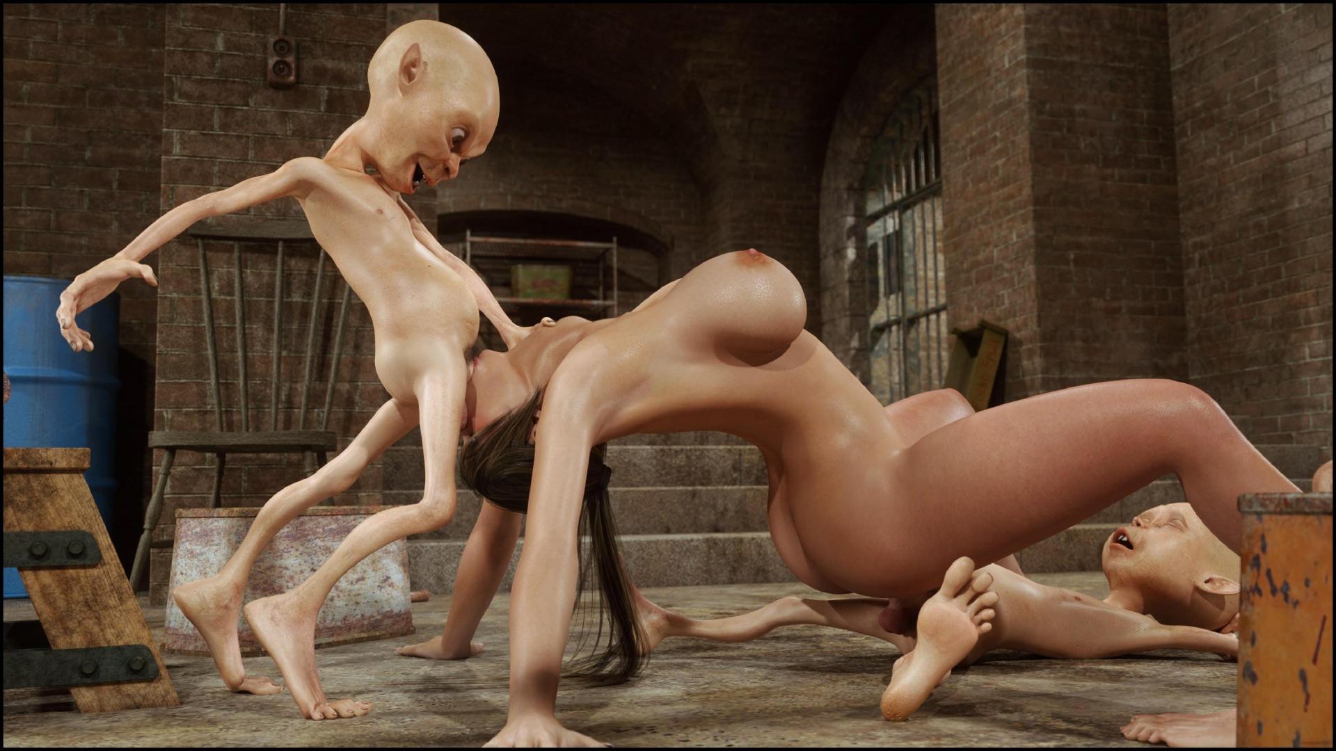 Cumshot 3d incest naked clips