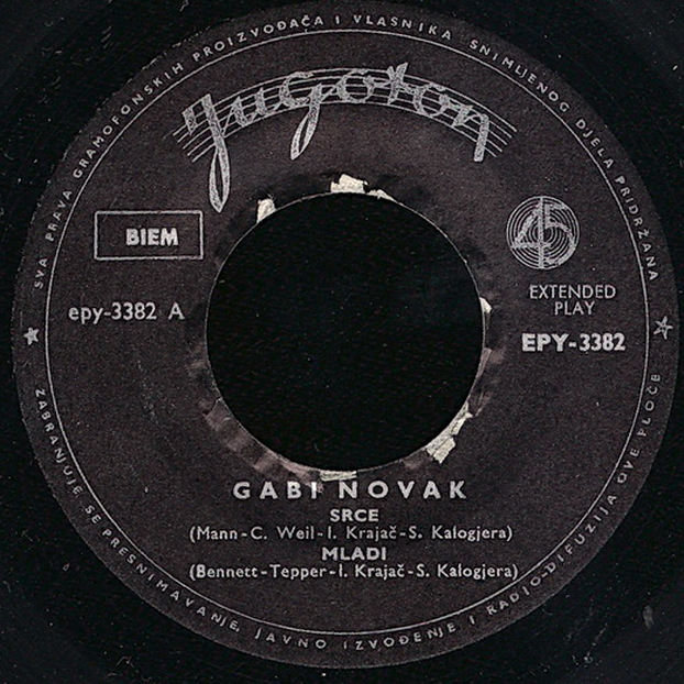 Gabi Novak 1964 Srce vinil 1