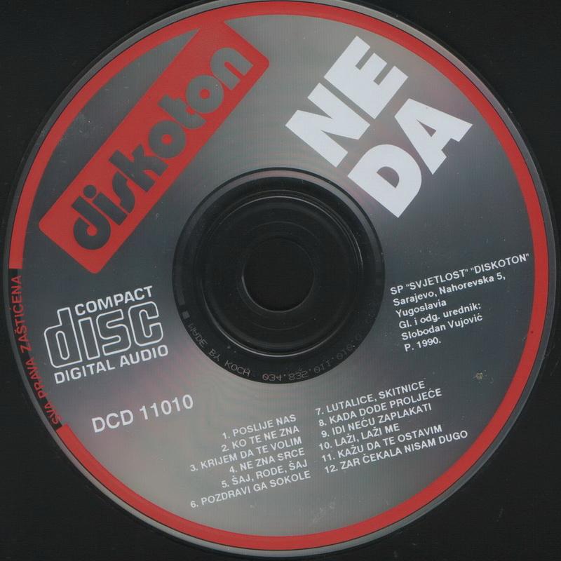 Neda Ukraden 1990 Poslije nas CD