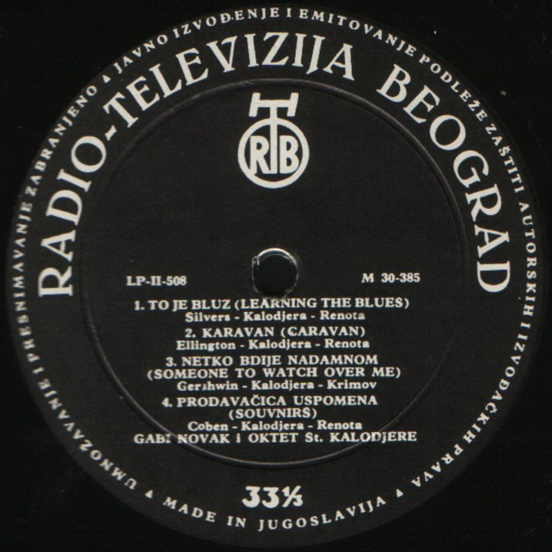 Gaby Novak 1961 Peva Gaby Novak vinil 1
