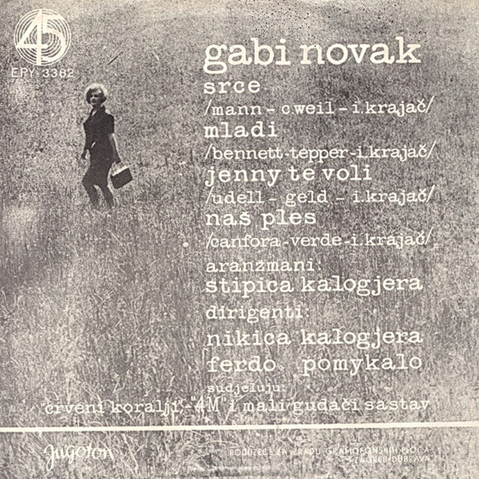 Gabi Novak 1964 Srce B