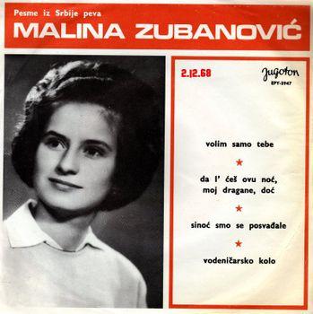 Malina Zubanovic - 1968 - Volim samo tebe 34916797_Prednja